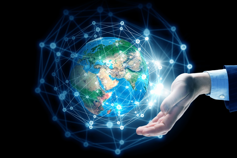 Global connection concept with digital planet in hands. Elements of this image are furnished by NASA.jpeg